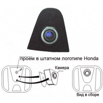 Камера в эмблему Honda