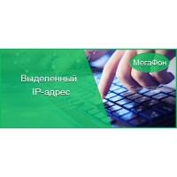 Статический IP адрес Мегафон +безлимитный интернет