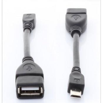 Кабель OTG mini USB - USB