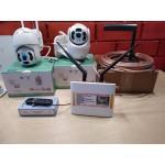 Комплект видеонаблюдения 2 камеры +интернет в частный дом