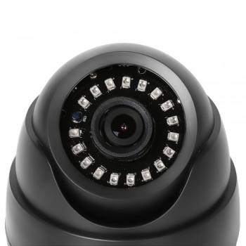 Купольная IP камера 1080р звук
