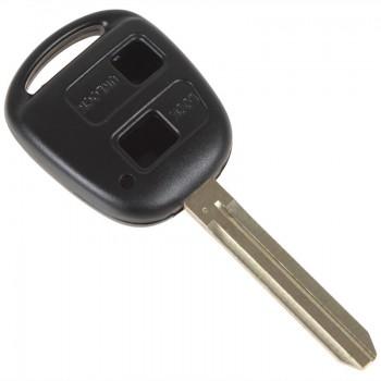 Корпус ключа зажигания для TOYOTA, 2 кнопки, toy41