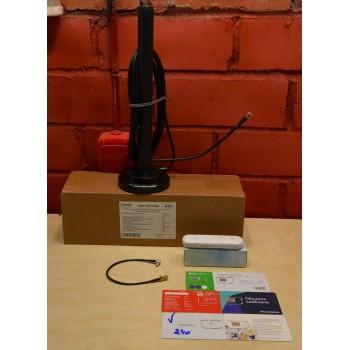 Комплект 3/4G WIFI интернета ZTE MF79U,антенна KROKS KC6-700/2700A