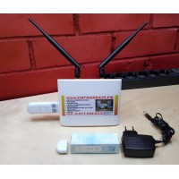 Комплект для интернета 3/4G WIFI Dlink DIR-620S + ZTE MF79U + безлимитный интернет