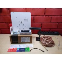 Комплект 3/4G+ WIFI интернета ZTE MF79U,антенна КРОКС КП-15