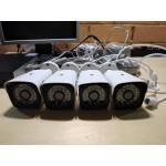 Комплект видеонаблюдения 4 камеры POE