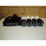 Комплект видеонаблюдения 4 камеры AHD, 1080p, 2мп, улица-помещение