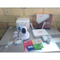 Видеокамера + 4G wifi интернет в офис, магазин, склад,