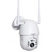 Комплект видеонаблюдения  1 камера WIFI, SD, аудио,PTZ, помещение-улица