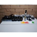 Комплект видеонаблюдения 4 камеры POE, 2мп, доступ в интернет