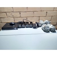 Комплект видеонаблюдения 4 камеры POE, 2мп