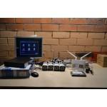 Комплект видеонаблюдения 4 камеры POE +доступ в интернет