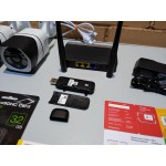Комплект онлайн видеонаблюдения 2 камеры 5мп