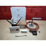 Комплект 3G/4G WIFI интернета ZTE MF79RU с антенной KROKS KP-15