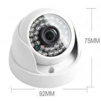 Купольная камера видеонаблюдения AHD 720p 2000TVL