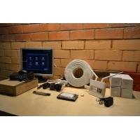 Комплект видеонаблюдения на 2 камеры AHD +доступ в интернет