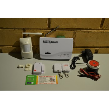 GSM сигнализация для дома, дачи, гаража