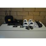 Комплект видеонаблюдения на 4 камеры AHD, помещение