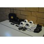 Комплект видеонаблюдения на 4 камеры AHD