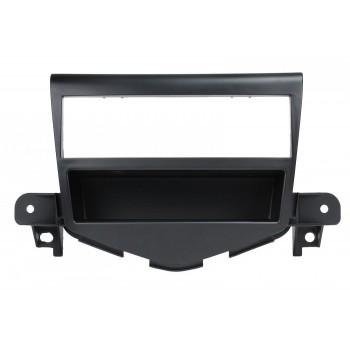 Переходная рамка для Chevrolet Cruze 2008- 1 Din черная