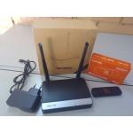 Комплект видеонаблюдения 2 камеры IP, WIFI, SD
