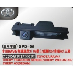 Камера автомобильная TOYOTA RAV4,CHERY TIGGO, CHERY A3