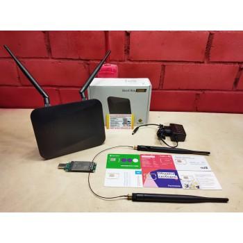 Комплект 4G WIFI интернета cat.6 EP06-e, SmartBOX TURBO+