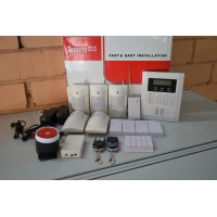 GSM сигнализация с ЖК дисплеем и клавиатурой