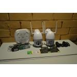 Комплект видеонаблюдения 2 камеры, IP,WIFI,PTZ, SD