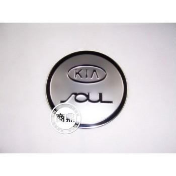 накладка на крышку бензобака KIA Soul