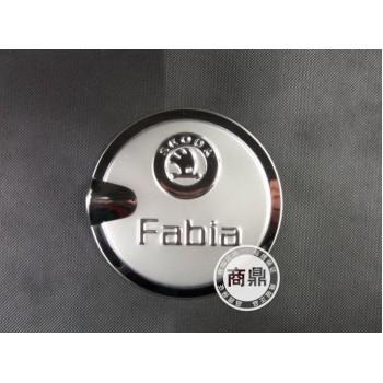 накладка на крышку бензобака Skoda Fabia
