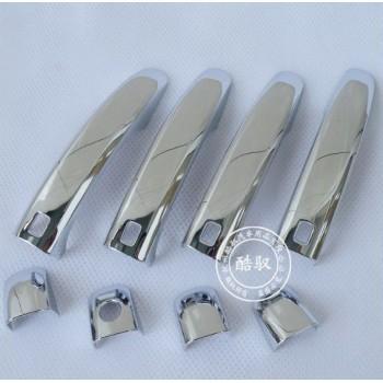 накладки на ручки дверей Audi Q5 08-10