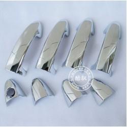 накладки на ручки дверей Ford Fiesta 09-11