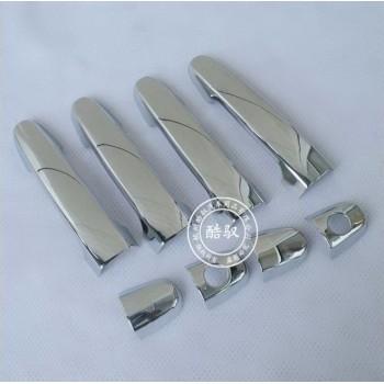 накладки на ручки дверей Toyota Corolla 03-08